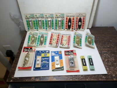 Vintage door bell lot of 18 total NOS late 1970s in packages MADE IN USA