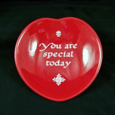 New Waechtersbach You Are Special Today Heart Shaped Trinket Dish Valentines Day