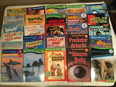 Lot LEVEL 3 All aboard reading HELLO READER Step into reading DK Reading lot 26