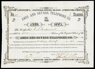 Ames and Nevada Telephone Co.