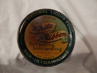 Tip Tray for White Ribbon Drink by Consumers Beverage Co. of New Orleans, LA