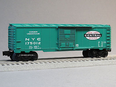 LIONEL NEW YORK CENTRAL BOXCAR O GAUGE OPENING DOORS train nyc 6-82984 B NEW