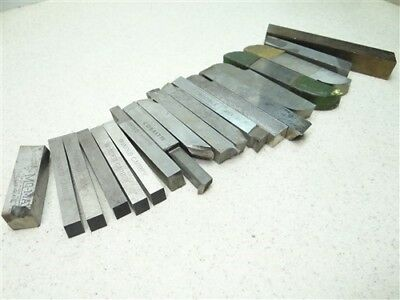 19Pc Lot Of Assorted Machinists Tool Steel Bits Momax B&g Tool. Firth Sterling