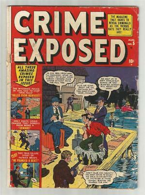 Crime Exposed #5, Aug. 1951