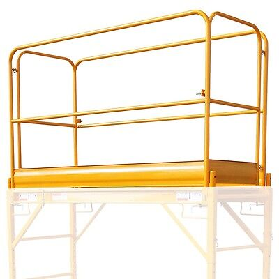 NEW Multi Function GuardRail • Scaffolding Accessories • used w/Rolling Scaffold