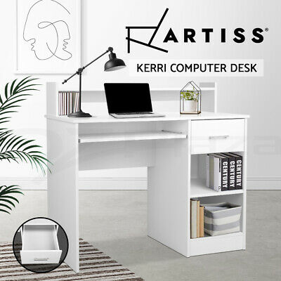 Computer Desk Office Storage PC Laptop Student Study Writing Table Business Home