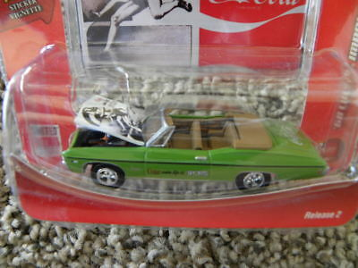 1968 Chevy Impala Convertible   Johnny Lightning Coca-Cola Sports Cars R2  1:64