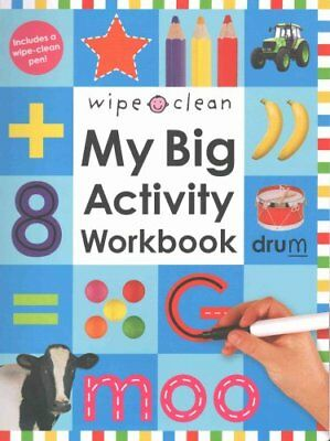 Wipe Clean My Big Activity Work Book by Roger Priddy 9781843325772