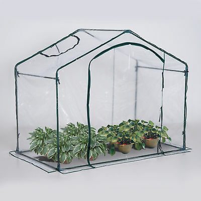 Outsunny 6' x 3.5'x 5' Portable Mini Walk-In Greenhouse Flower Plant Gardening