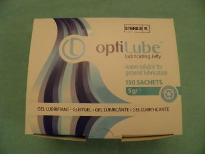 OptiLube Sterile Lubricating Jelly - Multiple Types Sachets Tubes or Syringes