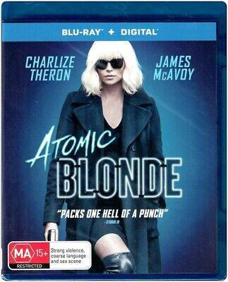 """ATOMIC BLONDE"" Blu-ray + Digital Copy - Region [B] NEW"