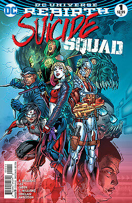 SUICIDE SQUAD #1, New, First Print, DC REBIRTH (2016)