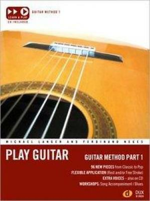 Langer, Michael: Play Guitar Guitar Method 1