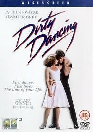 Patrick Swayze/Jennifer Grey - Dirty Dancing (DVD, 2001) FREEPOST