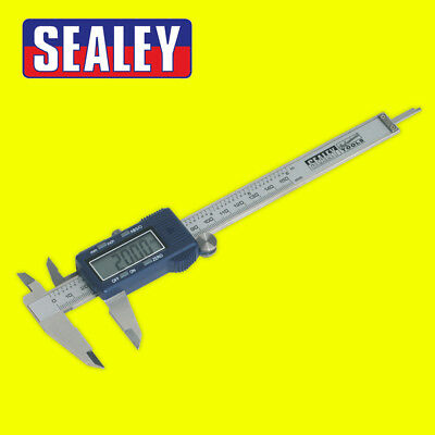 Sealey Premier Digital Vernier Caliper Gauge Precision Calliper Measurement Tool