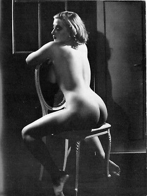 MODEL No.9:ca.1958-Classic glamour/art studies by Russell Gay