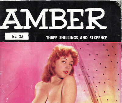 AMBER No.23:Glamour/Art Studies Magazine ca.1960-Vicky Kennedy,June Palmer