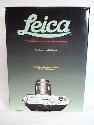 """LEICA, A History"" Revised Edition by Paul Henry van Hasbroeck Sotheby 350 pages"