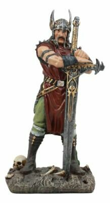 Medieval Age Harald The Conqueror Viking Warrior With Blade Of Ragnarok Statue