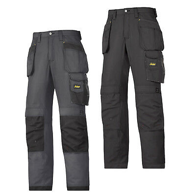 Snickers Workwear 3 Series Classic Rip Stop Trousers Black Or Steel Grey 3213