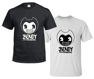 CHILDRENS kids t shirt BENDY AND THE INK MACHINE 5-13 years youtube game gamer