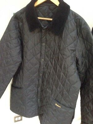 Men's Barbour Liddesdale Quilted Jacket Size Large