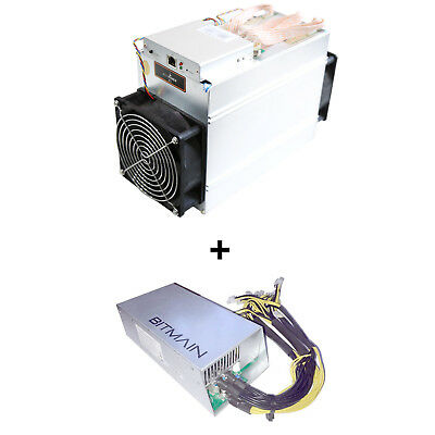 Bitmain Antminer A3 Blake2b 815GH/s Miner ASIC Siacoin w/ APW3++ Power Supply
