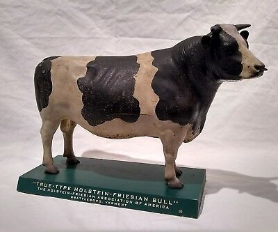 Vintage True-Type Holstein-Friesian  Association Of America  Model Holstein Bull