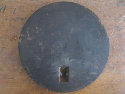 Older Cast Iron Stove parts, 8-1/2 in. Cover Burner Plate