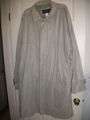 Lot Of Two Xxl Pre Owned Members Only Overcoat / Raincoat Nice Shape No Stains