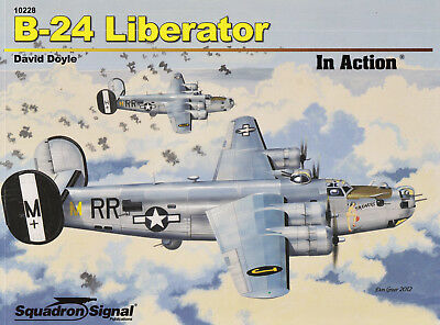2ss10228a/ Squadron / Signal - In Action 228 - B-24 Liberator - TOPP HEFT