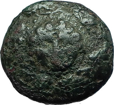 ALEXANDER III the Great 323BC Macedonia Ancient Greek Coin SHIELD HELMET i66613