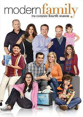 Modern Family: The Complete Fourth 4 4th Season NEW DVD FREE SHIPPING!!!