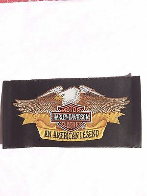 Motorcycle  Patch, Harley Davidson, *An American Legend*  Racing/ Advertising..