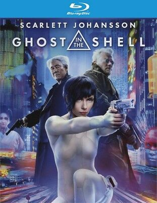 Ghost in the Shell (Blu-ray Disc ONLY, 2017)