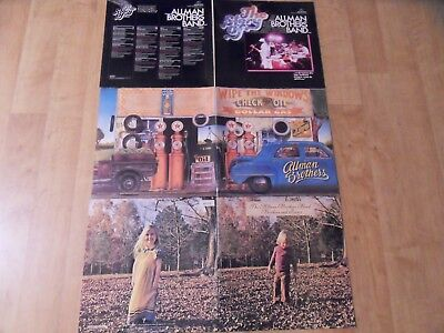 Allman Brothers – 5 Lps (Wipe The Windows, The Story Of, Brothers And Sisters)!!