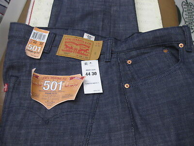 New Levis 501 White Oak Cone Denim Shrink To Fit Jeans Plum