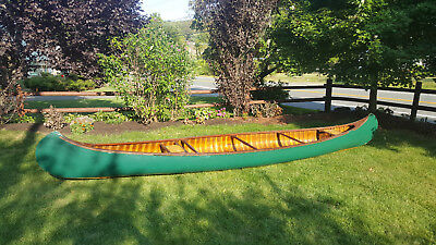 1920s Old Town Wooden Canoe (Restored)