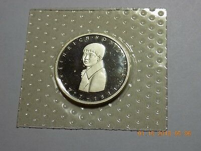 1977-G German 5 Deutsche Mark Silver Gem Cameo Proof - HEINRICH VON KLEIST
