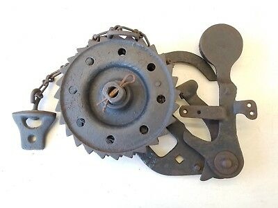 Antique Cast Iron Windmill Brake ~ Old Vintage Farm Primitive Tool Aeromotor ?
