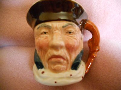 Staffordshire Character Toby Jug Highwayman