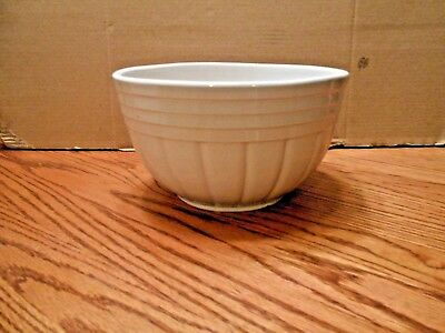 "Vintage R.r.p.co. Roseville Ohio Pottery 10"" Mixing Bowl"