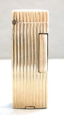 Vintage 14K Solid Gold Dunhill Lighter