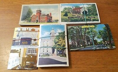 Large Lot of 121 Vintage Lisbon, Ohio Postcards Resell Decorating Gifts Linen