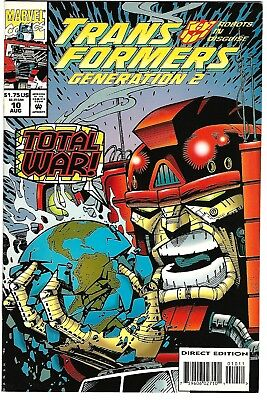 Transformers: Generation 2 #10 (1994) VF/NM  Furman - Galan