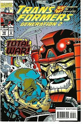 Transformers: Generation 2 #10 (1994) NM  Furman - Galan