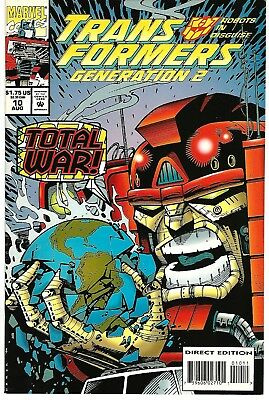 Transformers: Generation 2 #10 (1994) NM+  Furman - Galan