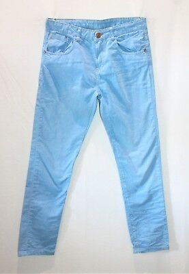 ZARA Boys Brand Boys Blue Adjustable Waist Regular Jeans Size 13-14 BNWT #SF77