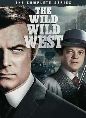 THE WILD WILD WEST COMPLETE SERIES New 26 DVD Set Seasons 1-4 Season 1 2 3 4