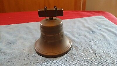 Vintage Patent 1919 Liberty Bell Coin Bank First National Bank Minneapolis